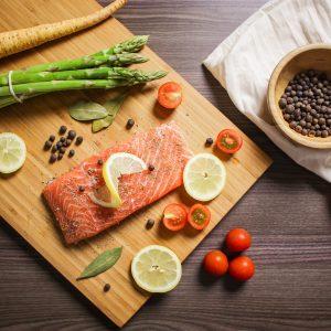 Saumon mariné 3 poivres
